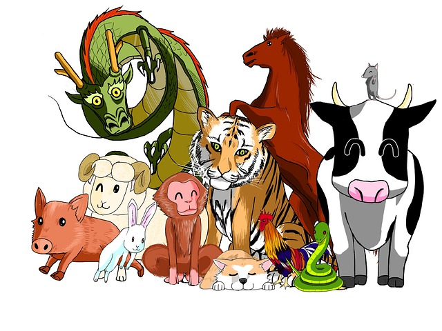 zodiac signs all animals