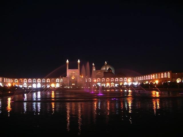 iran night